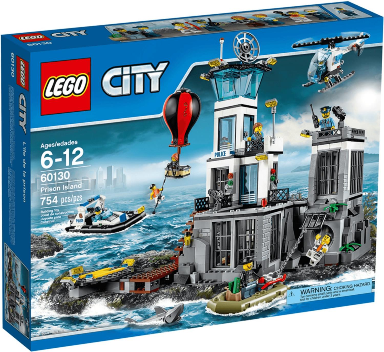 LEGO City - Polizeiquartier auf der Gefängnisinsel (60130)