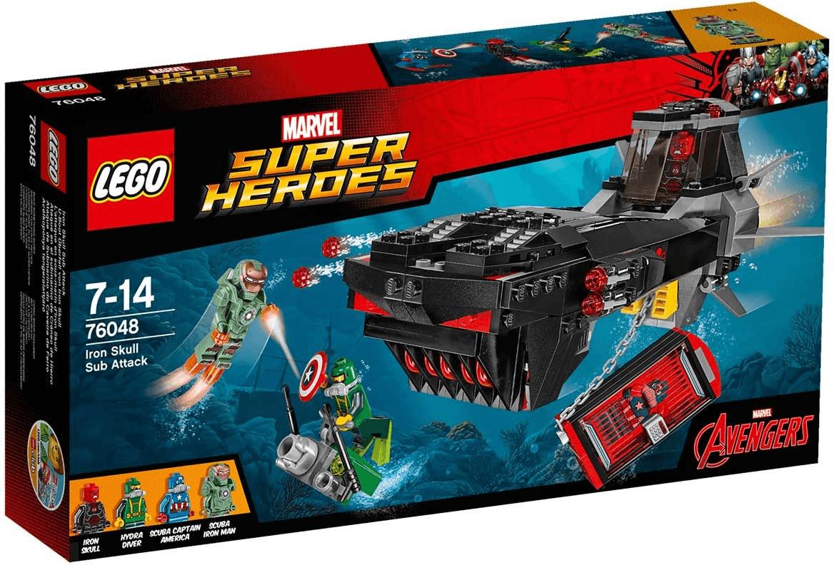 LEGO Marvel Super Heroes - L'attaque en sous-marin d'Iron Skull (76048)