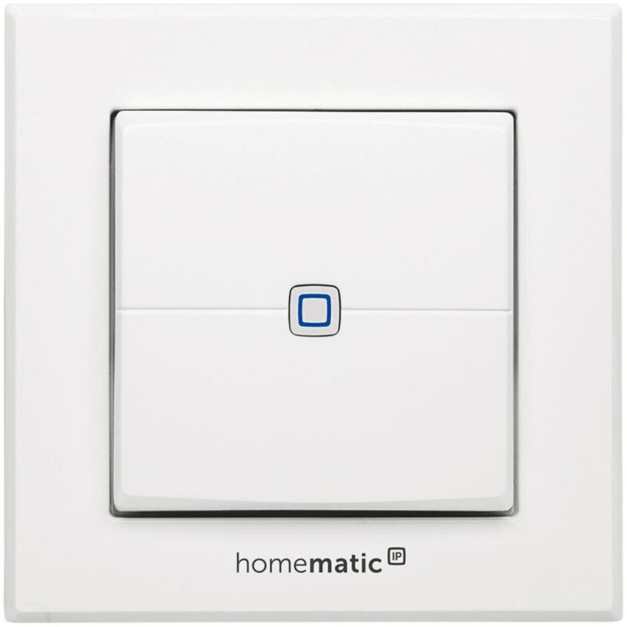 Homematic IP Wandtaster - 2-fach (HMIP-WRC2)