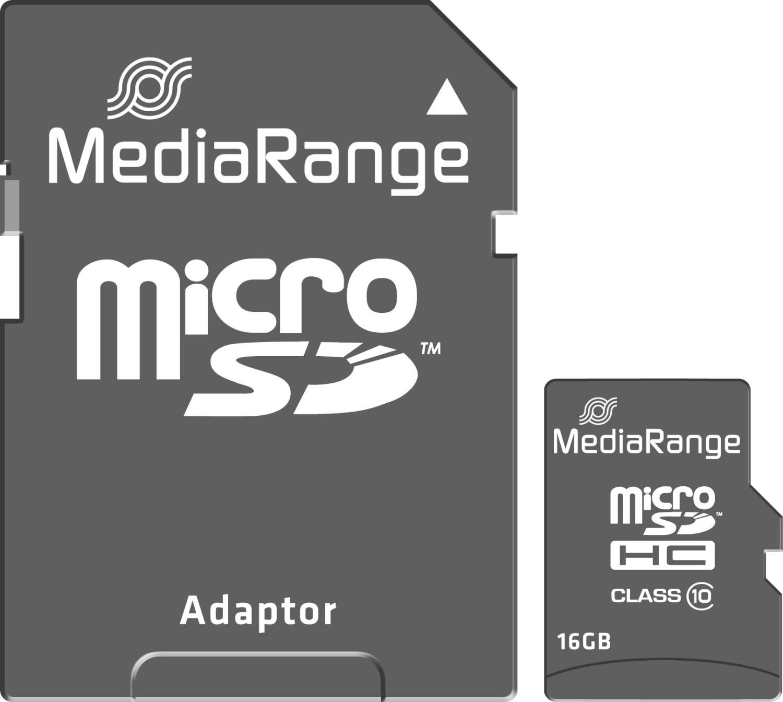 MediaRange microSDHC Class 10 16GB (MR958)