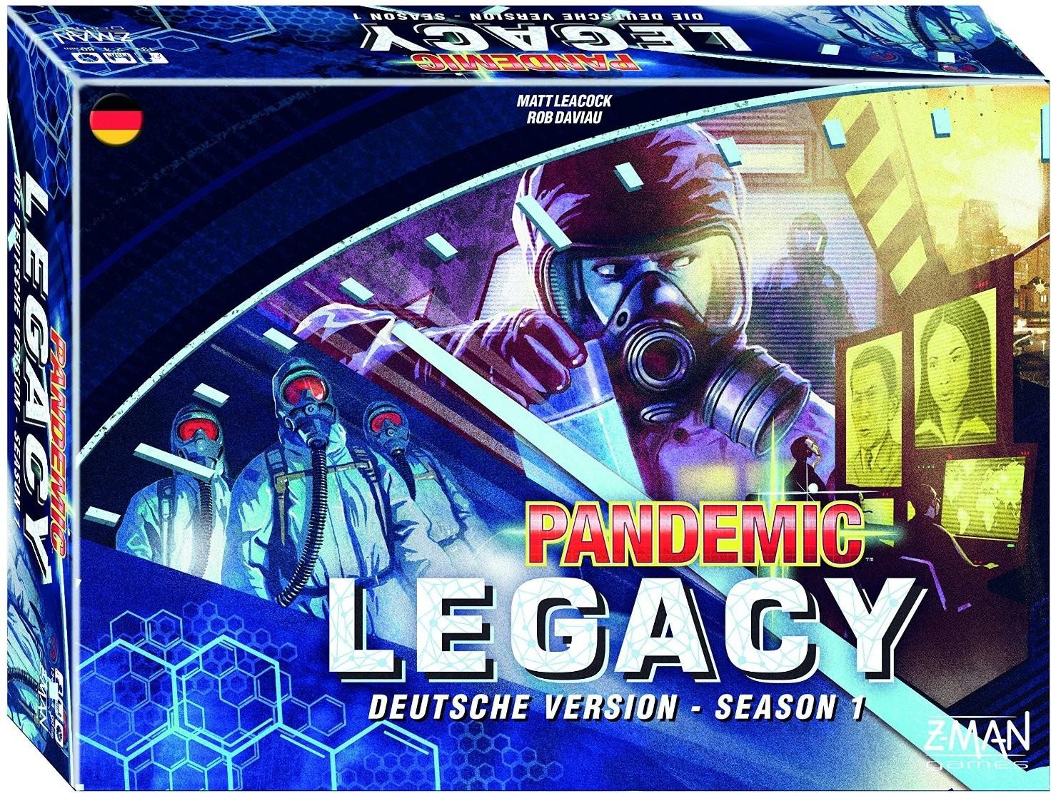 Z-Man Games Pandemic Legacy blau (deutsch)