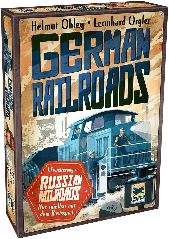 Hans im Glück German und 1. Erweiterung Russian Railroads