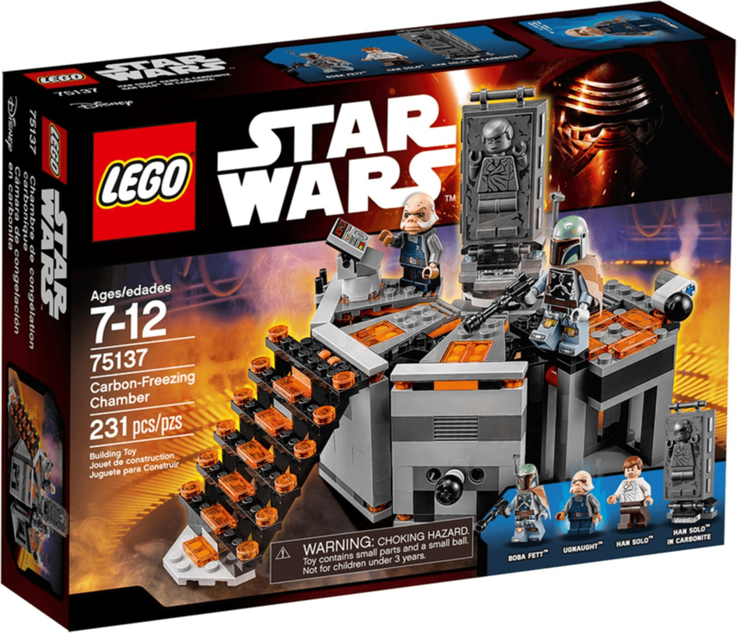 LEGO Star Wars - Carbon Freezing Chamber (75137)