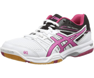 asics gel rocket 7 damen blau