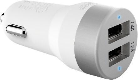 Image of Artwizz CarPlug Double white