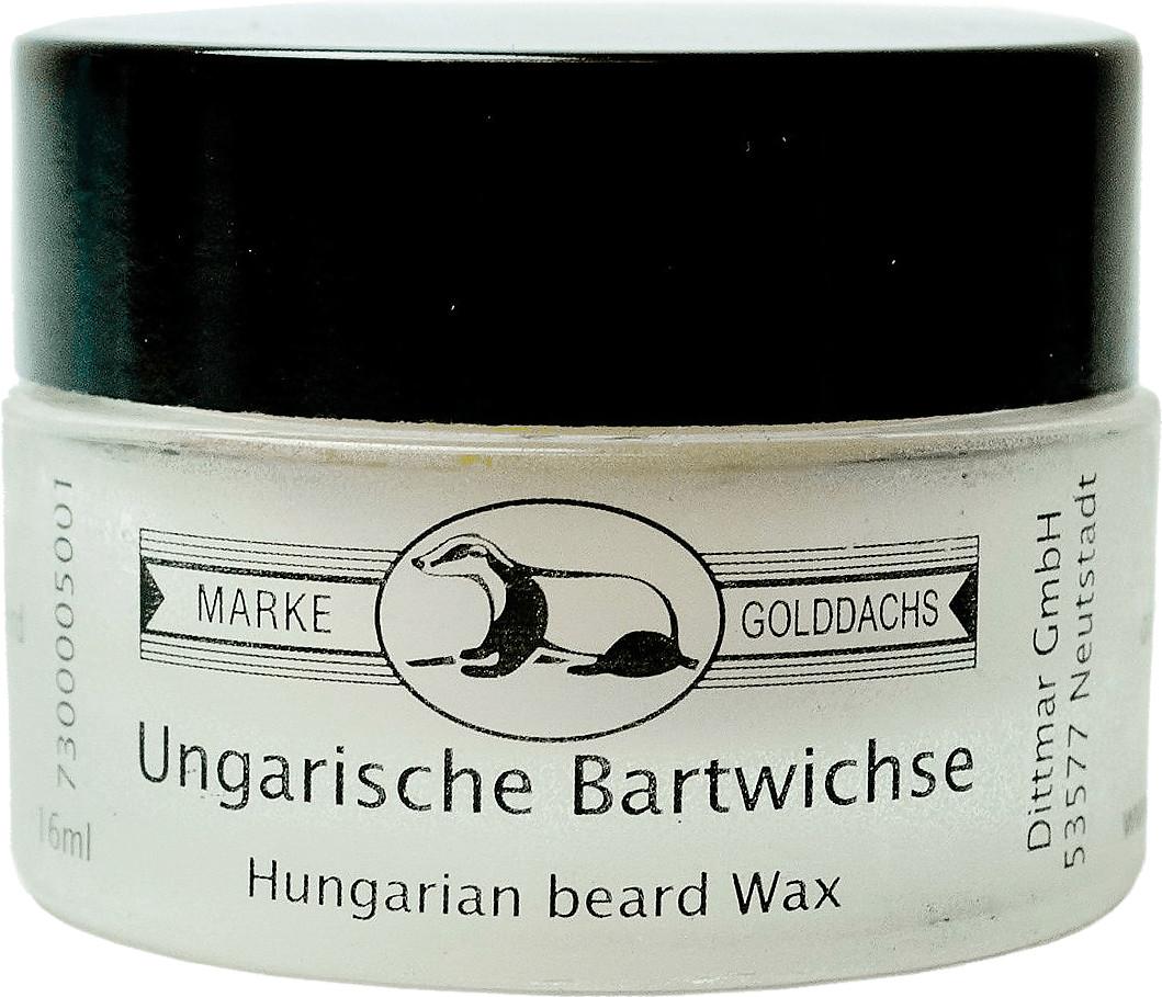Golddachs Ungarische Bartwichse (16ml)