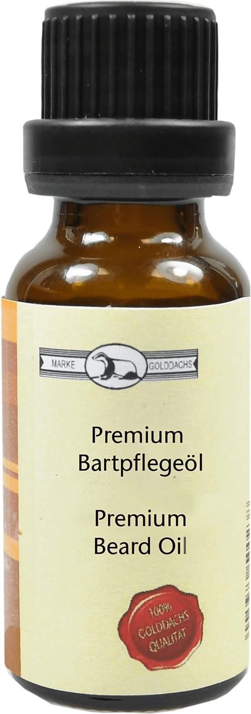 Golddachs Bartöl Premium Vanille (20ml)