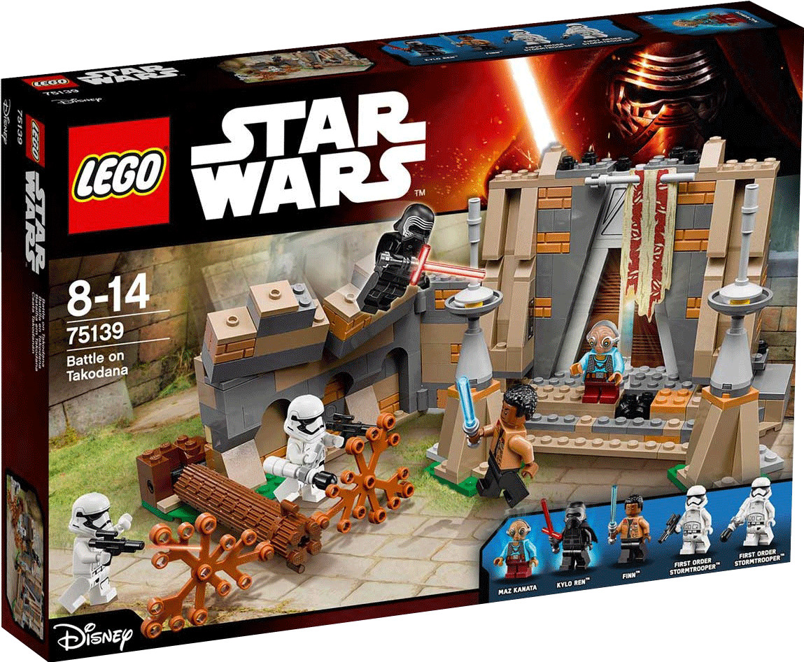LEGO Star Wars - La bataille de Takodana (75139)
