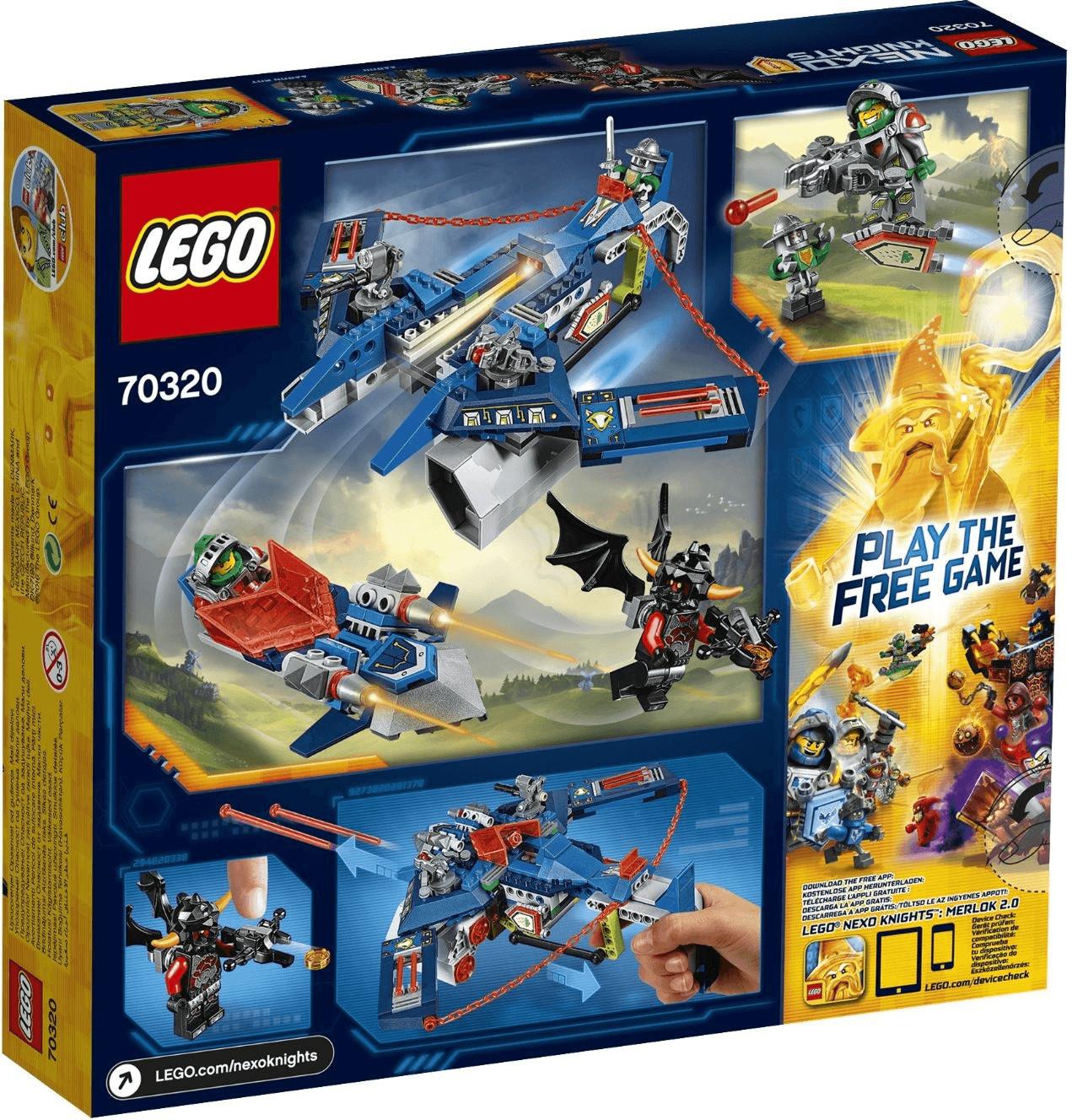 LEGO Nexo Knight - Aarons Aero-Flieger V2 (70320)