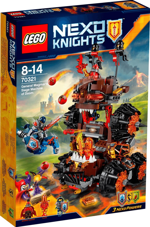 LEGO Nexo Knight - General Magmars Schicksalsmobil (70321)