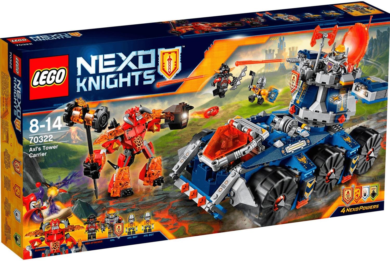 LEGO Nexo Knight - Axls rollender Wachturm (70322)