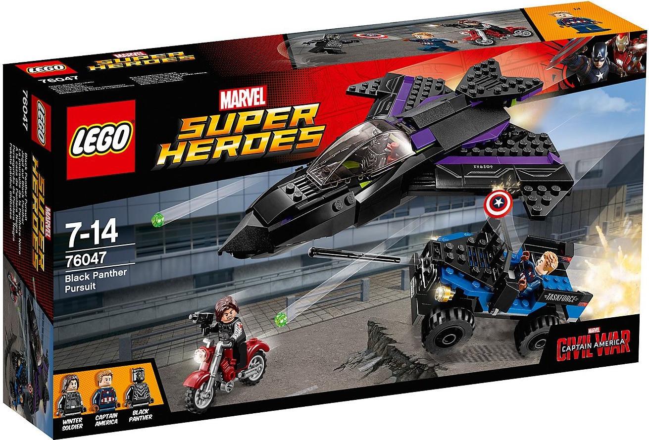 LEGO Marvel Super Heroes - Jagd auf Black Panther (76047)