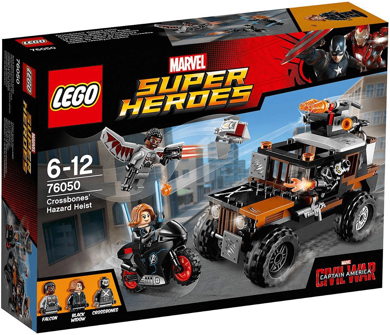 LEGO Marvel Super Heroes - L'attaque toxique de Crossbones (76050)