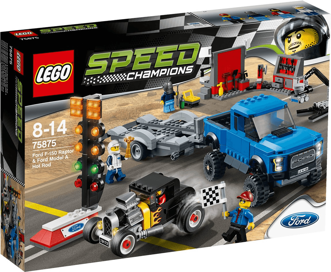 LEGO Speed Champions - Ford F 150 Raptor Ford Model A Hot Rod (75875)