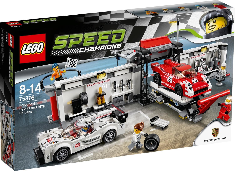 LEGO Speed Champions - Porsche 919 Hybrid & 917 K Pit Lane (75876)