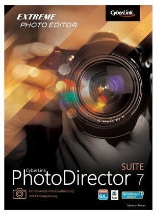 Image of CyberLink PhotoDirector 7 Suite