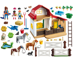 Playmobil country establo de ponis 6927 desde 39 90 for La granja de playmobil precio