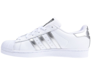 adidas superstar cuir core blanche