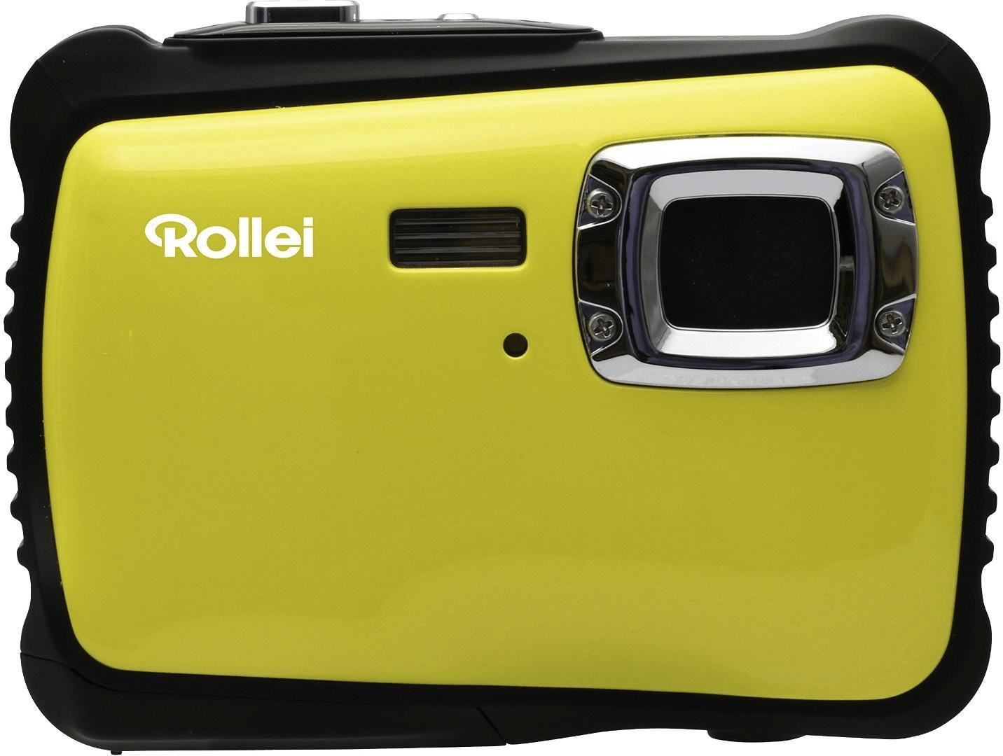 Rollei Sportsline 65 - Cámara digital compacta, Sensor CMOS de 5 me(Amarillo)