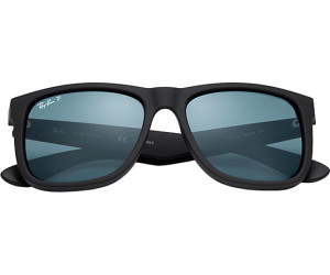 Buy Ray-Ban Justin RB4165 622 2V (black polar blue) from £97.00 ... c681e6d8d1