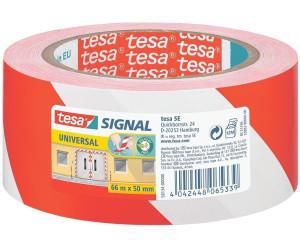 tesa Signalmarkierungsklebeband universal 66m x 50mm gelb//schwarz