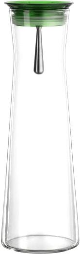 Bohemia Cristal Karaffe Indis 1,1 l grün
