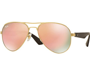 Ray-Ban Sonnenbrille Rb3523, polarized, UV 400, braun