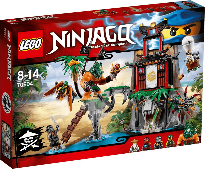 LEGO Ninjago - Schwarze Witwen-Insel (70604)