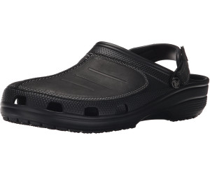 Crocs Yukon Mesa Clogs Men Black/Black 39-40 2017 Freizeit Sandalen