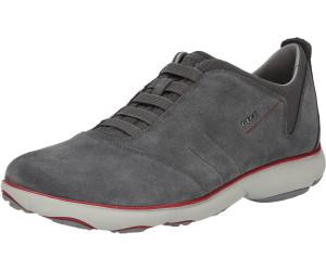 Geox U NEBULA F EUR 43 Textile/Suede Military/DK Sneaker Red