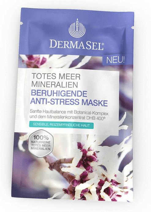 DermaSel Totes Meer Beruhigende Anti Stress Mas...