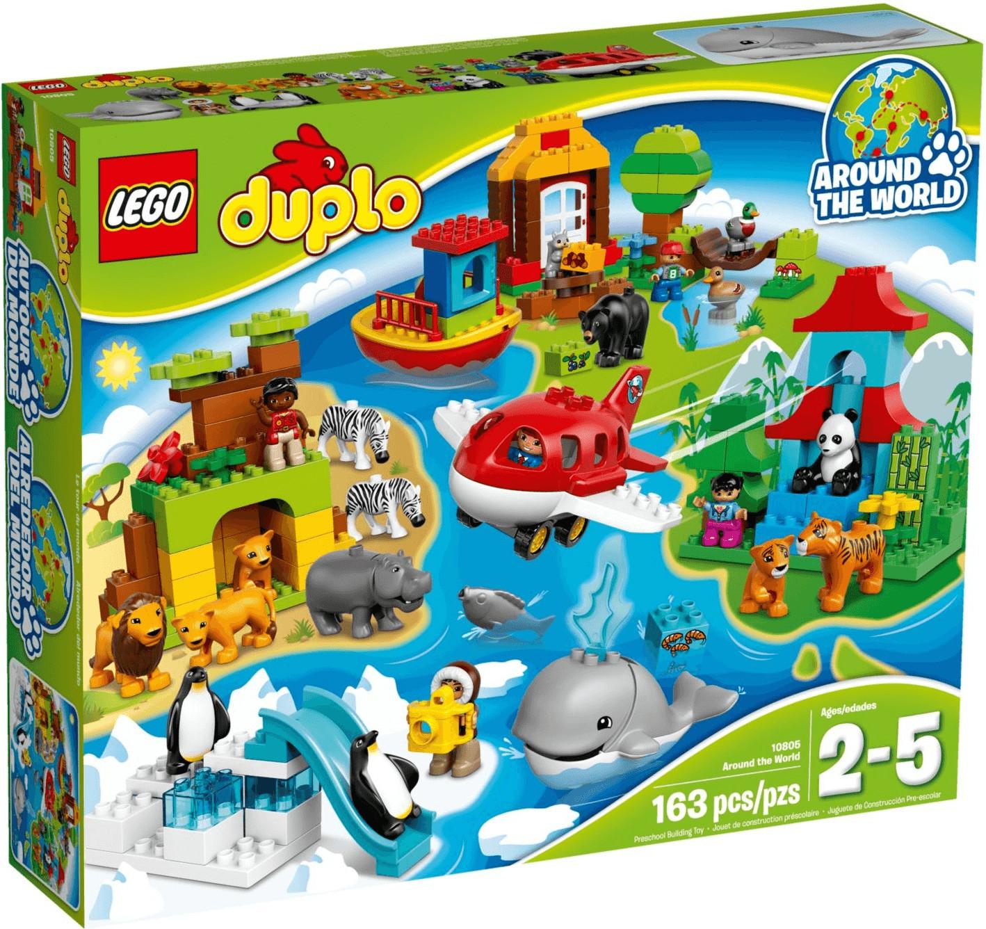 LEGO Duplo - Alrededor del mundo (10805)