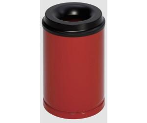 VAR Papierkorb 15 L feuersicher rot
