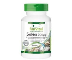 Fairvital Selen 200 µg Tabletten (20 Stk.)