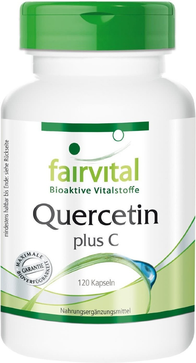 Fairvital Quercetin plus C Kapseln (120 Stk.)