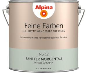 Alpina Farben Sanfter Morgentau 25 L Ab 2989 Preisvergleich