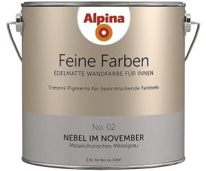 Alpina Feine Farben Nebel Im November 2 5 L Ab 27 05 November 2020 Preise Preisvergleich Bei Idealo De