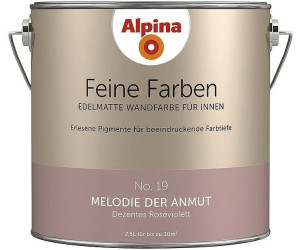 alpina feine farben ab 27 70 preisvergleich bei. Black Bedroom Furniture Sets. Home Design Ideas