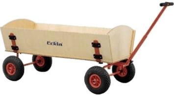 Eckla XXL-Trailer mit pannensicheren Reifen (77860)