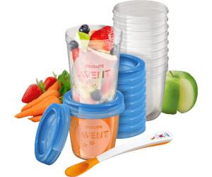 Philips Avent Nahrungs-Mehrwegbecher zum aufbewahren von Baby-Nahrung SCF721//20