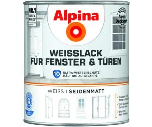 alpina farben wei lack f r fenster und t ren 2 l ab 38 99 preisvergleich bei. Black Bedroom Furniture Sets. Home Design Ideas