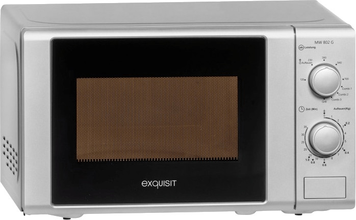 Image of Exquisit MW 802 G silver