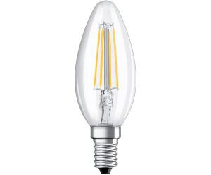 10 x 6 Watt Filament LED Kerze E14 DIMMBAR Warmweiß 2700K wie 60 Watt