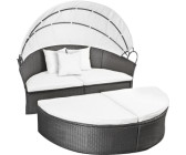 sonneninsel rattan grau bei. Black Bedroom Furniture Sets. Home Design Ideas