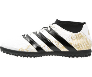 adidas ACE 16.3 Primemesh TF Kinder Fußballschuhe weißgoldschwarz 34