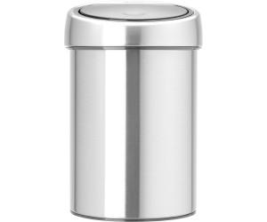 Brabantia newIcon Wandabfallbehälter Mülleimer Wand Müll Eimer White 3 L