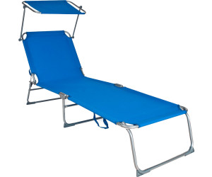 tectake sonnenliege mit sonnendach 190cm ab 25 38 preisvergleich bei. Black Bedroom Furniture Sets. Home Design Ideas