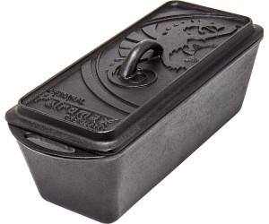 Petromax k8 Kastenform mit Deckel Dutch Oven Feuertopf Gusseisen Brotbackform