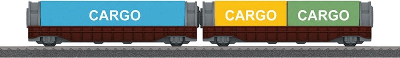 Märklin my world Containerwagen-Set (44109)