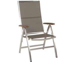 stern klappsessel cardiff edelstahl teak armlehnen ab 399 00 preisvergleich bei. Black Bedroom Furniture Sets. Home Design Ideas